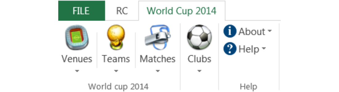 World Cup 2014 Add-in