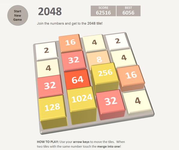 2048 game version for Excel - Spreadsheet1 - Excel Data Analytics