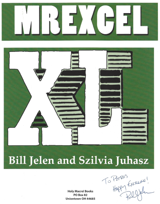Mr Excel XL Book