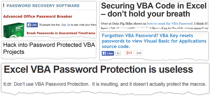 Hack VBA password