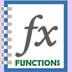 Excel 2013 Functions