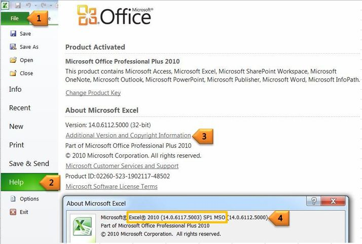 Office 2010 Service Pack