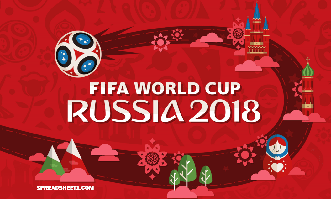 World Cup 2018 Russia template banner