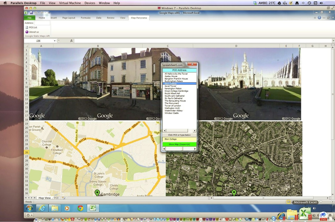 Map & Street View API