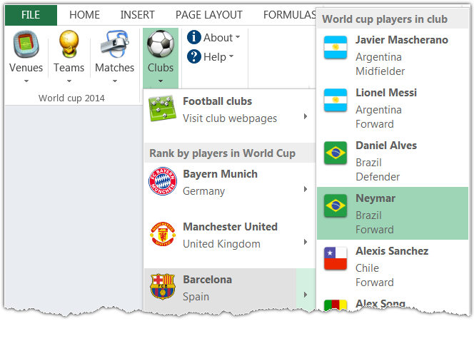 World cup 2014 Excel prediction templates | Spreadsheet1