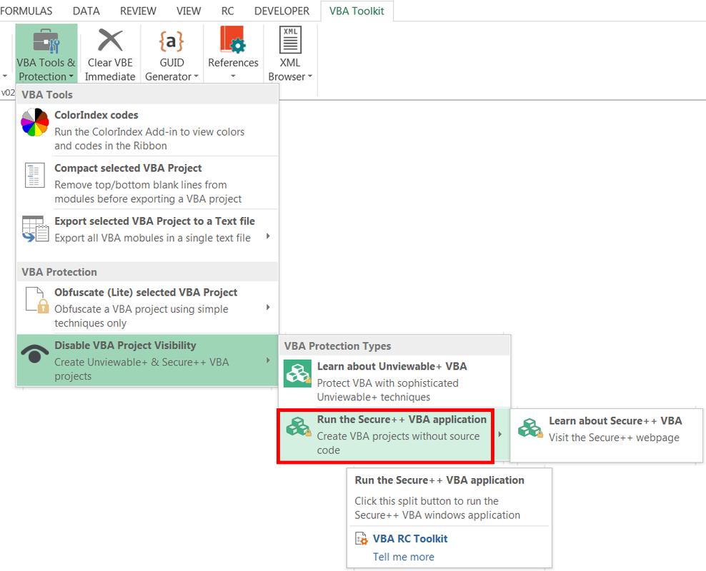 VBA Ribbon Commander Toolkit essential utilities for Excel developers