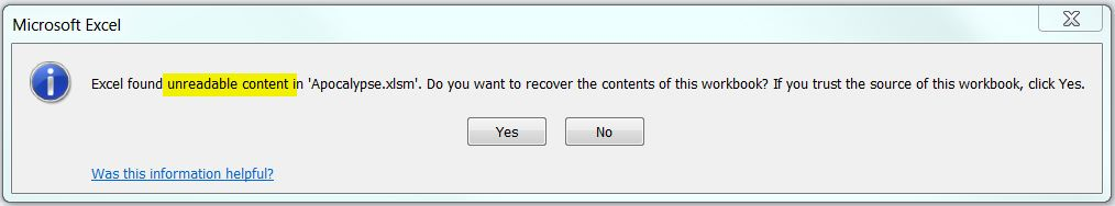 Spreadsheet Version Control