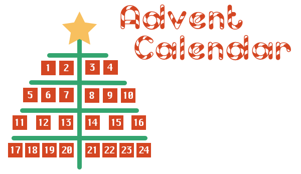 Excel advent calendar free template excel advent calendar toneelgroepblik Image collections