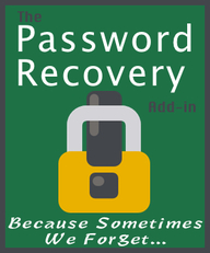 Password Recovery addin for Excel