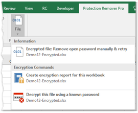 how to break a password protected xls file for free